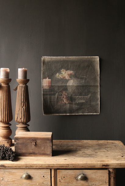 Tough sturdy linen wall hanging photo cloth