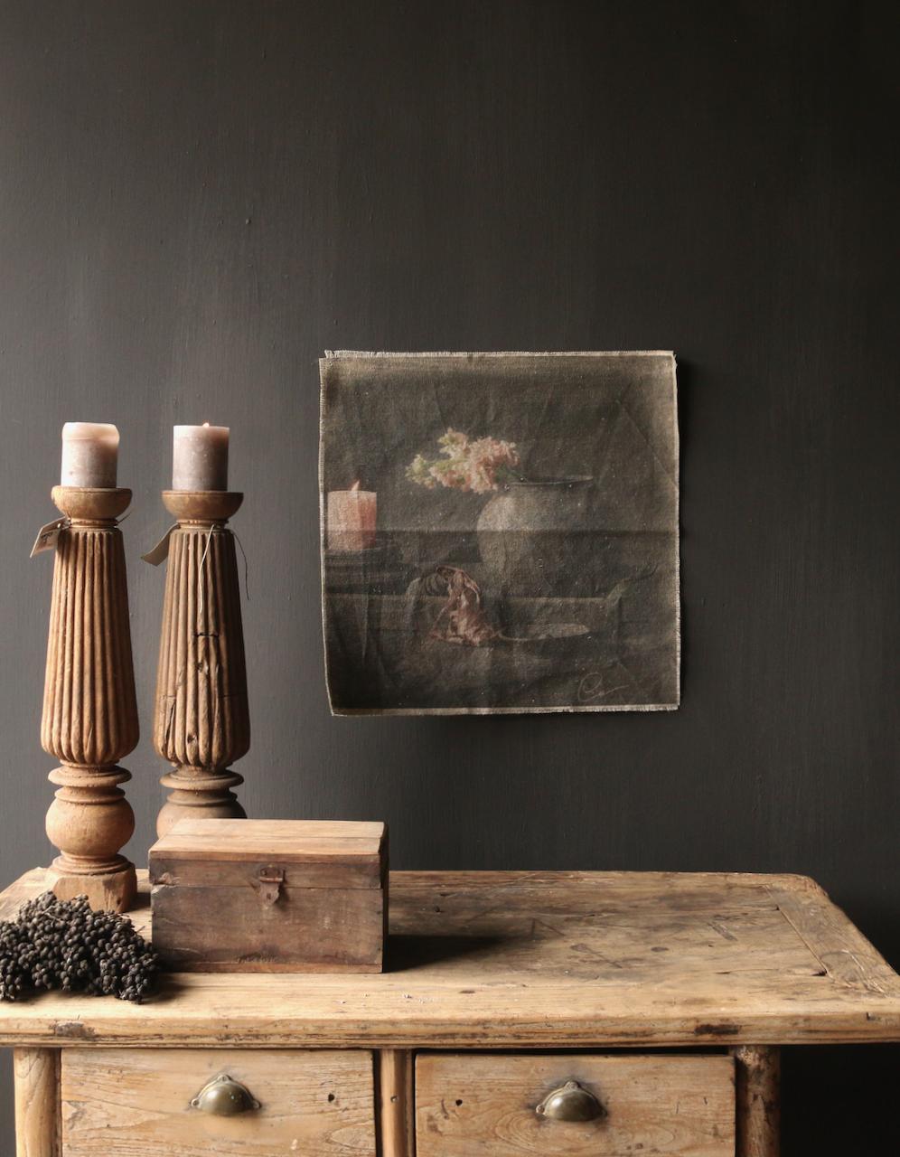 Tough sturdy linen wall hanging photo cloth-1