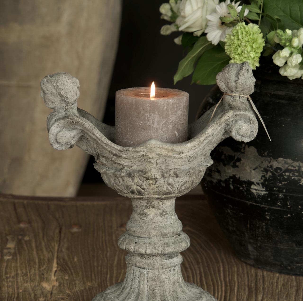 Betonvase / Kerzenständer-2