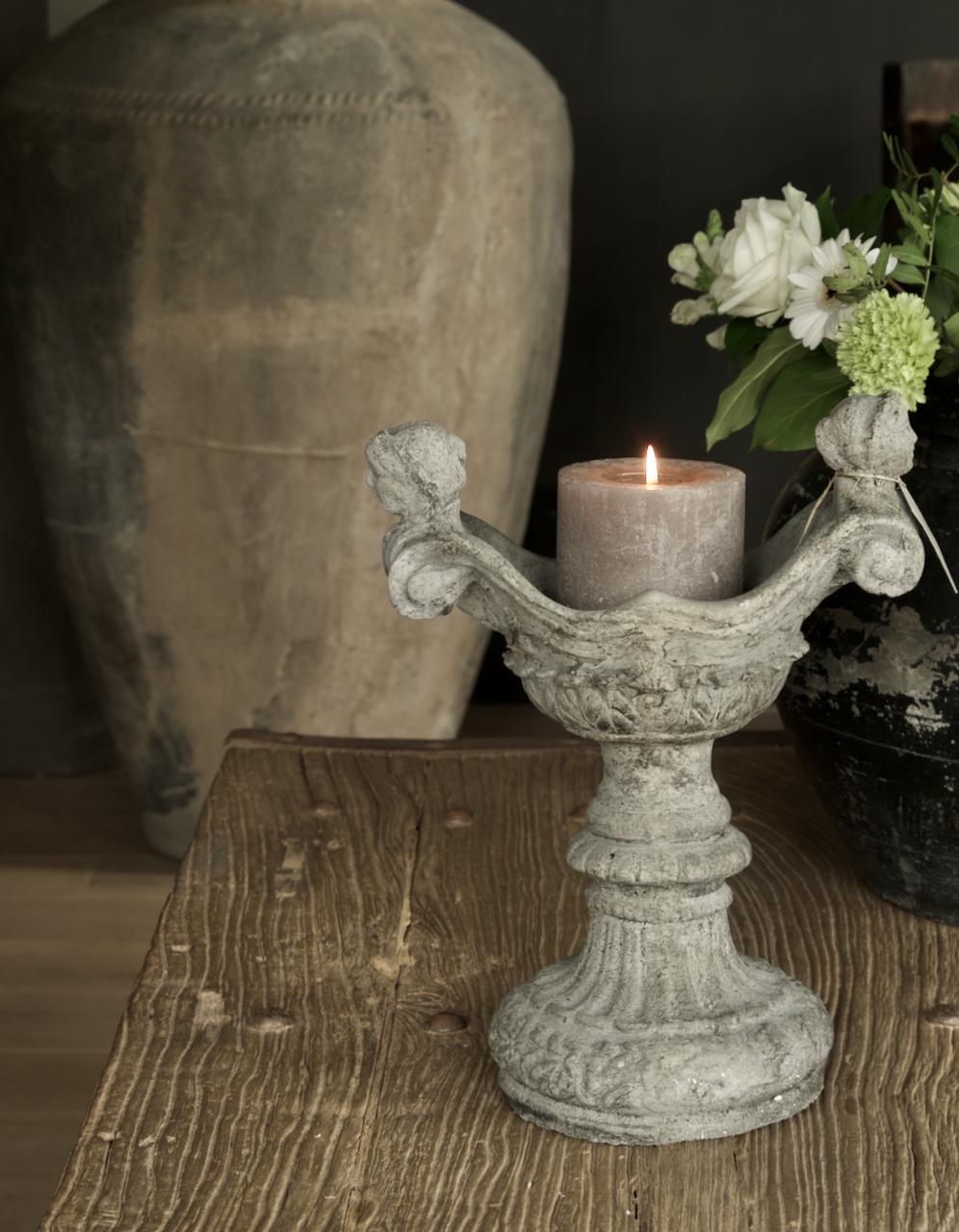 Betonvase / Kerzenständer-1