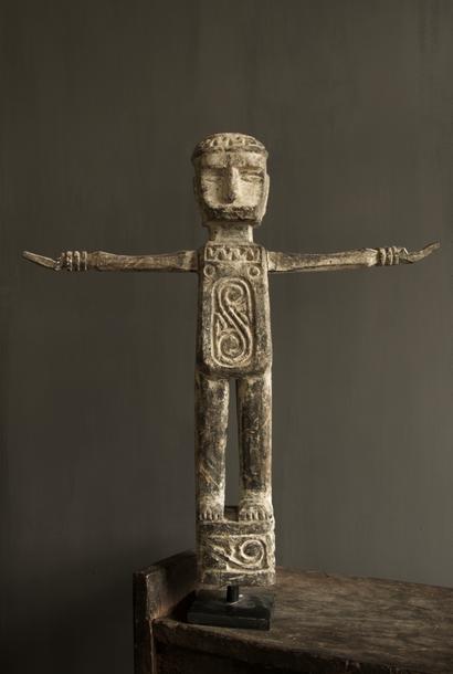 Uniek houten beeld India