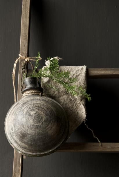 Antike einzigartige altindische Sural-Flasche