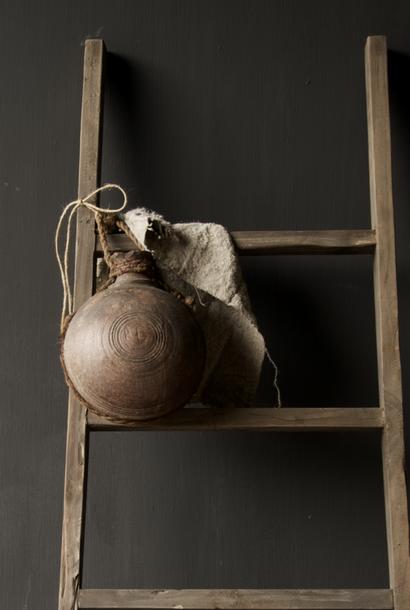 Antique Unique Old Indian Sural bottle