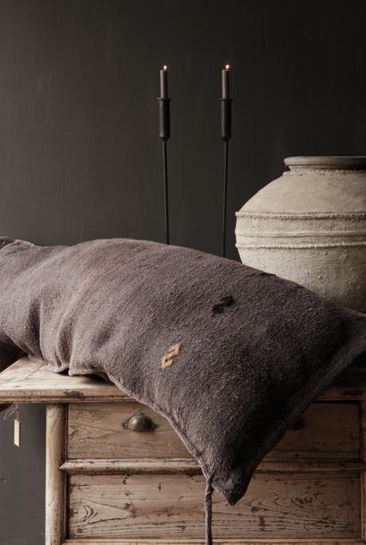 Beautiful Tough coarse woven Pillow (Grain bag)