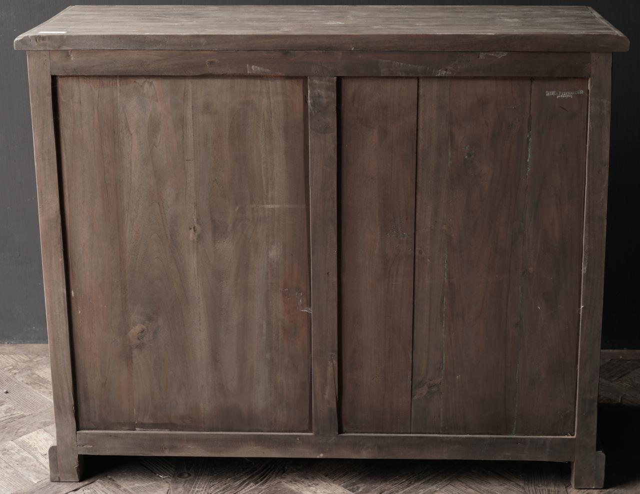 Alte Holzkommode mit Tür Lieke-3