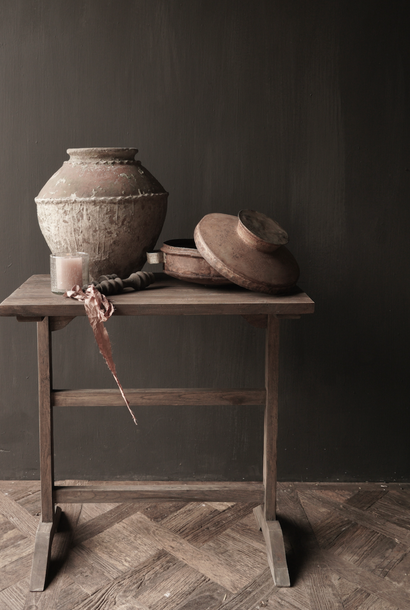 Wandtisch Beistelltisch Schreibtisch aus Altholz