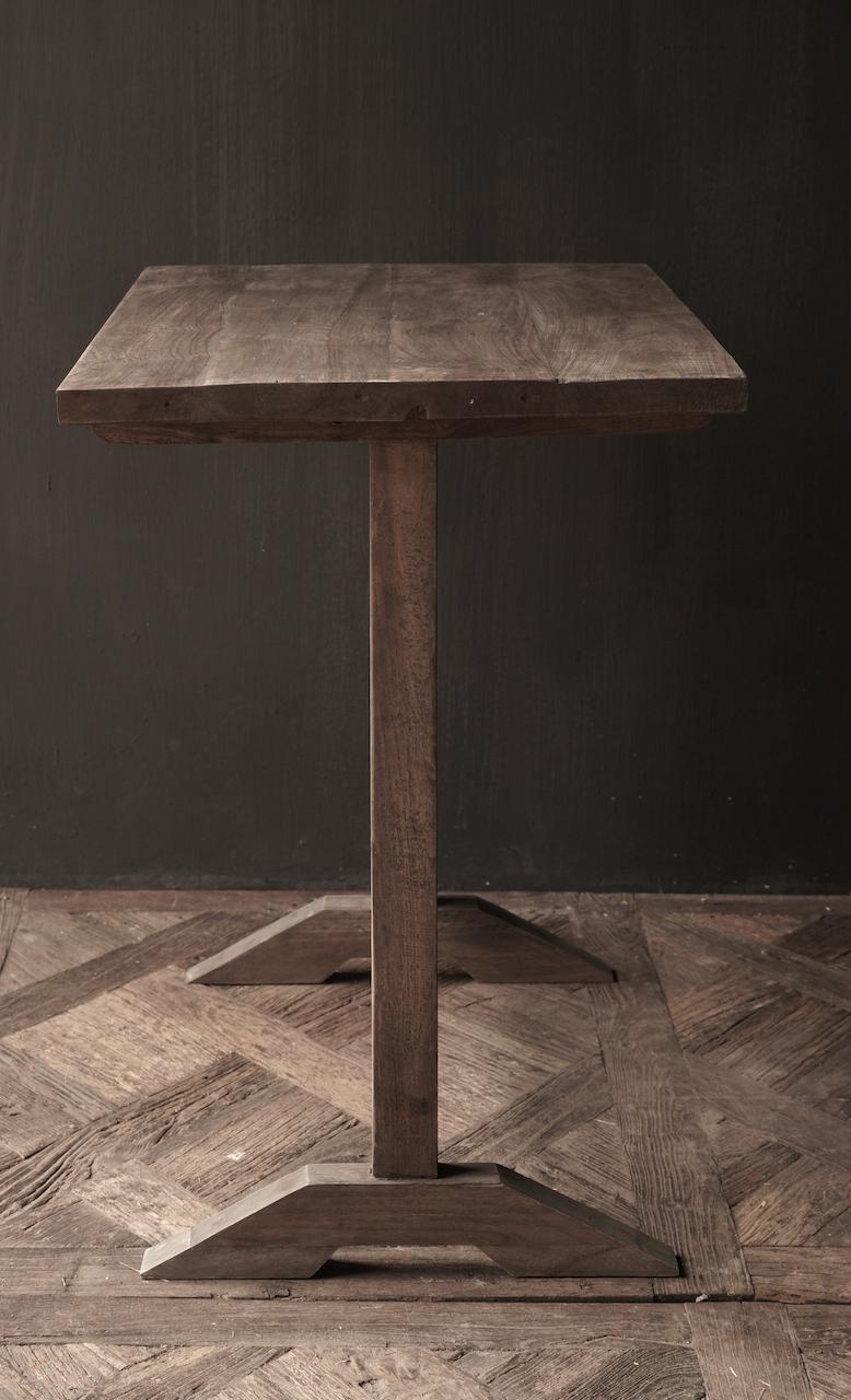 Muurtafel Side table  schrijftafel van oud hout-3