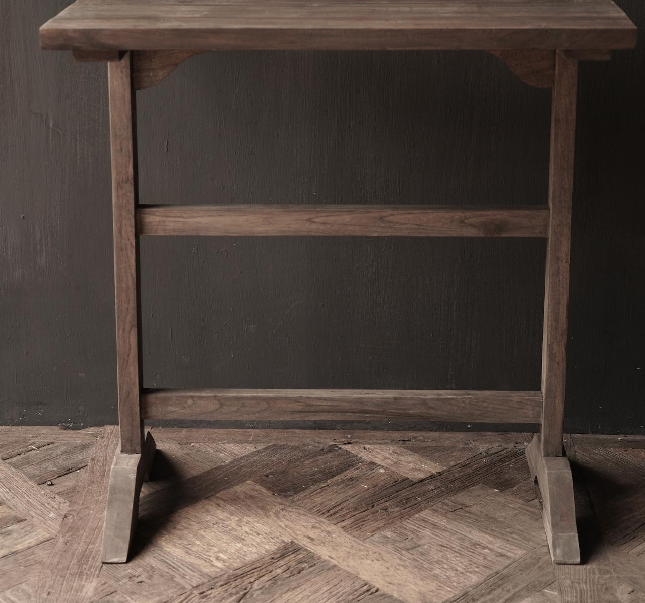 Muurtafel Side table  schrijftafel van oud hout-4