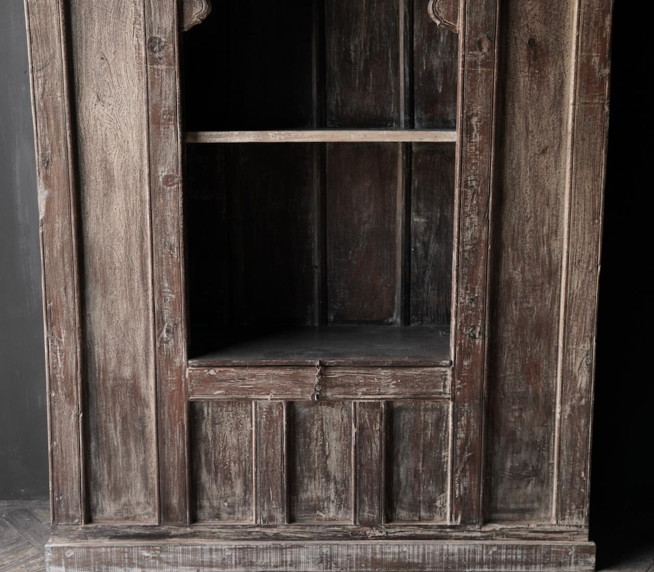 Tough Beautiful Unique old Indian open cupboard-4