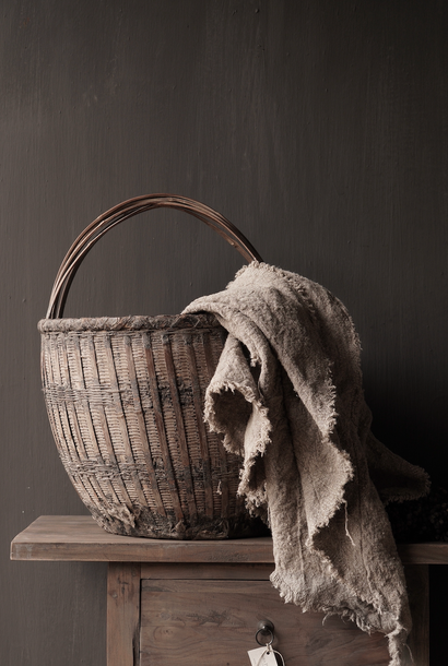 Old Authentic Wicker basket