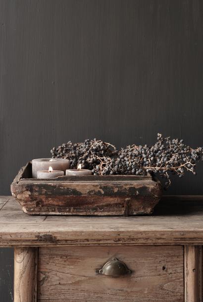 Antiek houten tray
