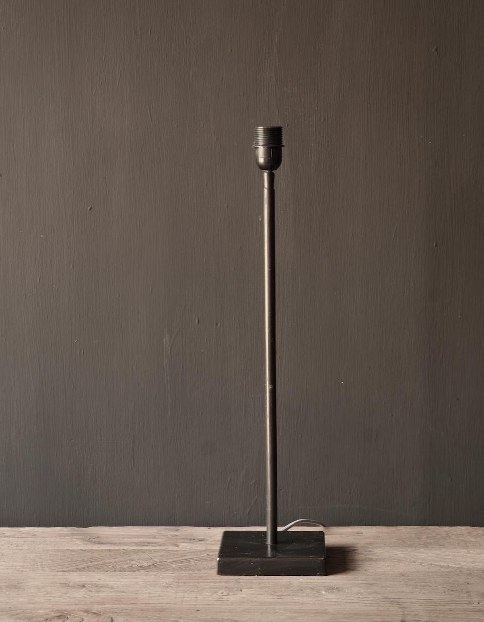 braune runde Eisen-Tischlampe-3