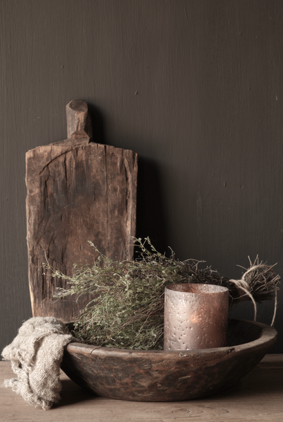 Oude houten Serveer /broodplankje plankje