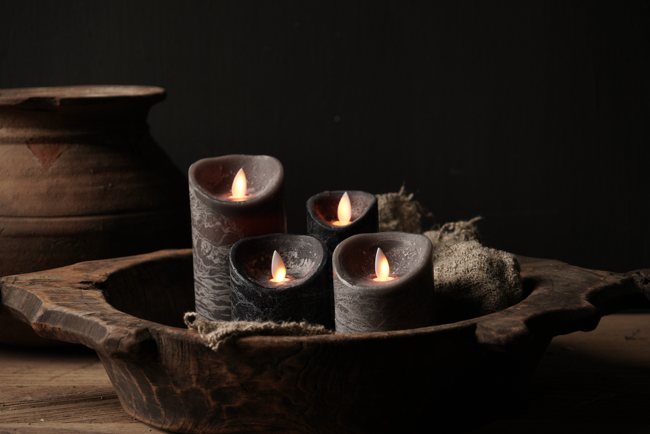 Wax led candles from-3