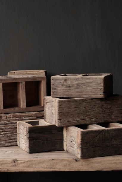 Railway houten bakje