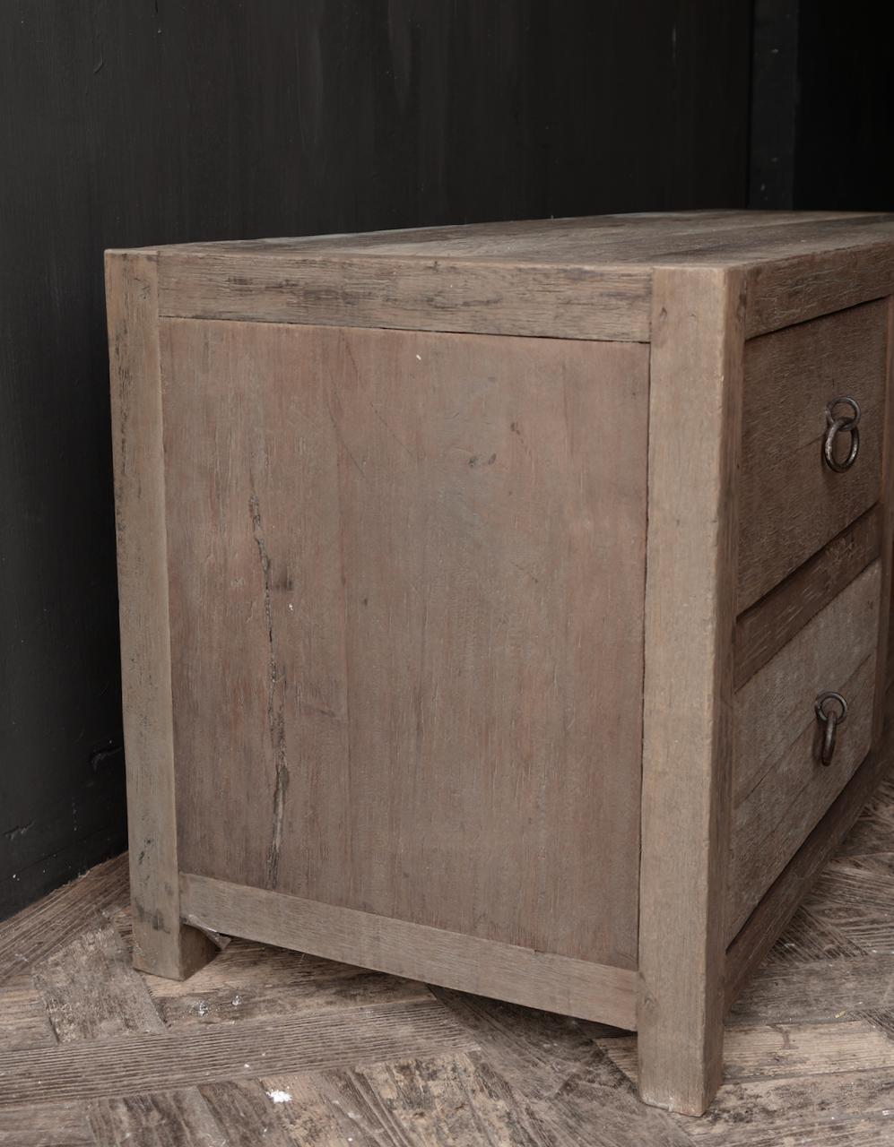 RESERVED TV Furniture / sideboard of old wood-6