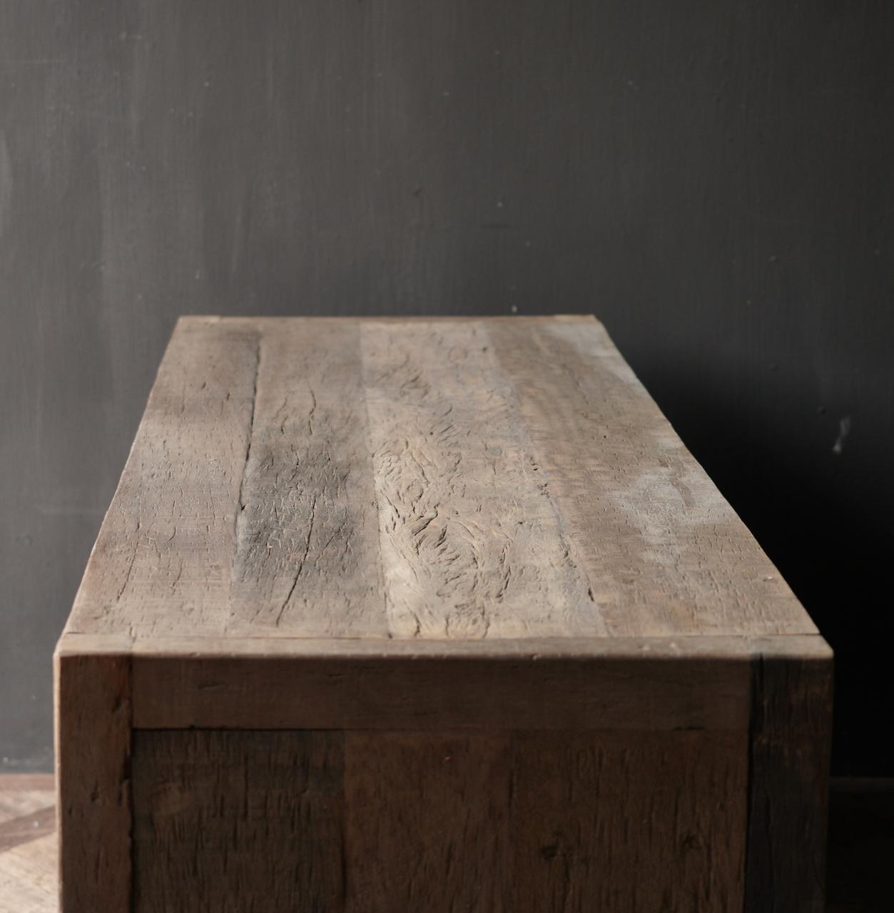 RESERVED TV Furniture / sideboard of old wood-7