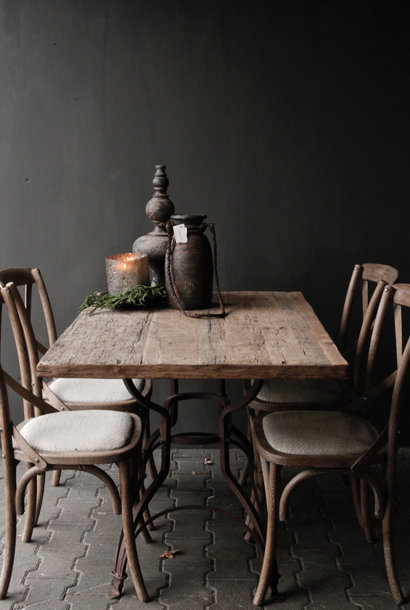 Loose sturdy robust old wooden table top