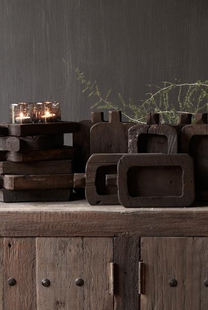 Klein houten  plankje