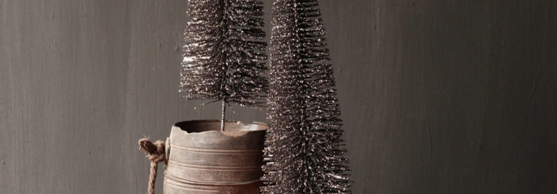Glitter Tree Bronze