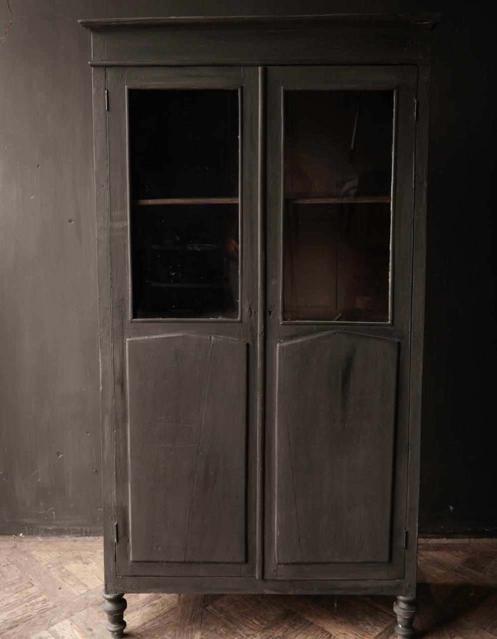 Old Unique Indian (Wabi Sabi) Schrank zwei Türen-2