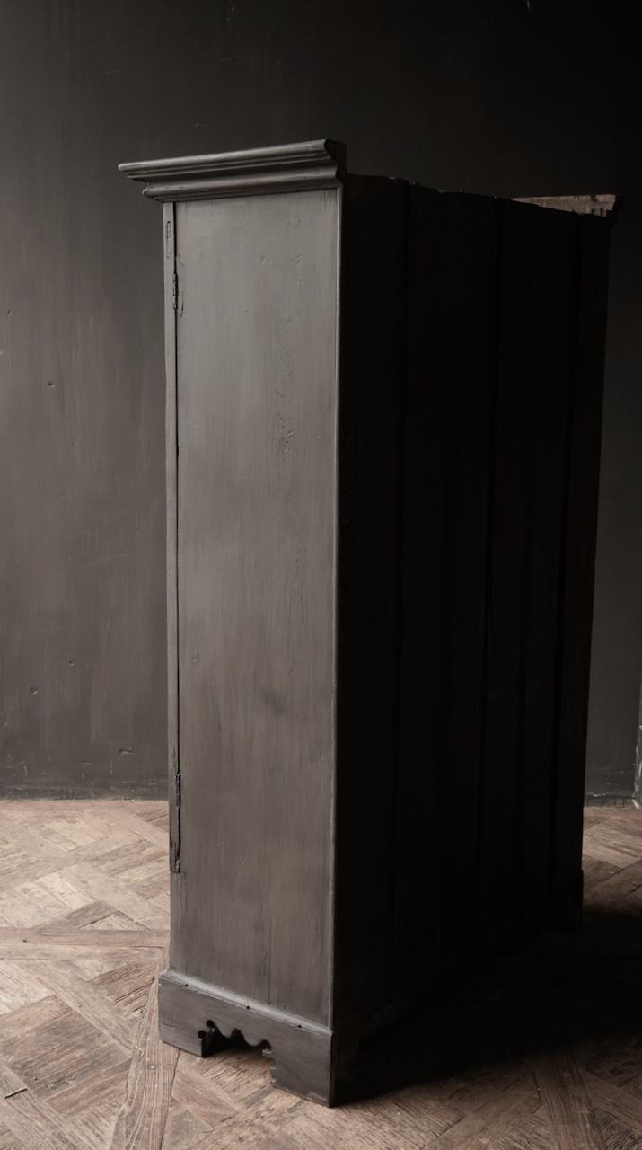 Oude Unieke Indische ( Wabi Sabi) kast twee deurs  en een lade-6