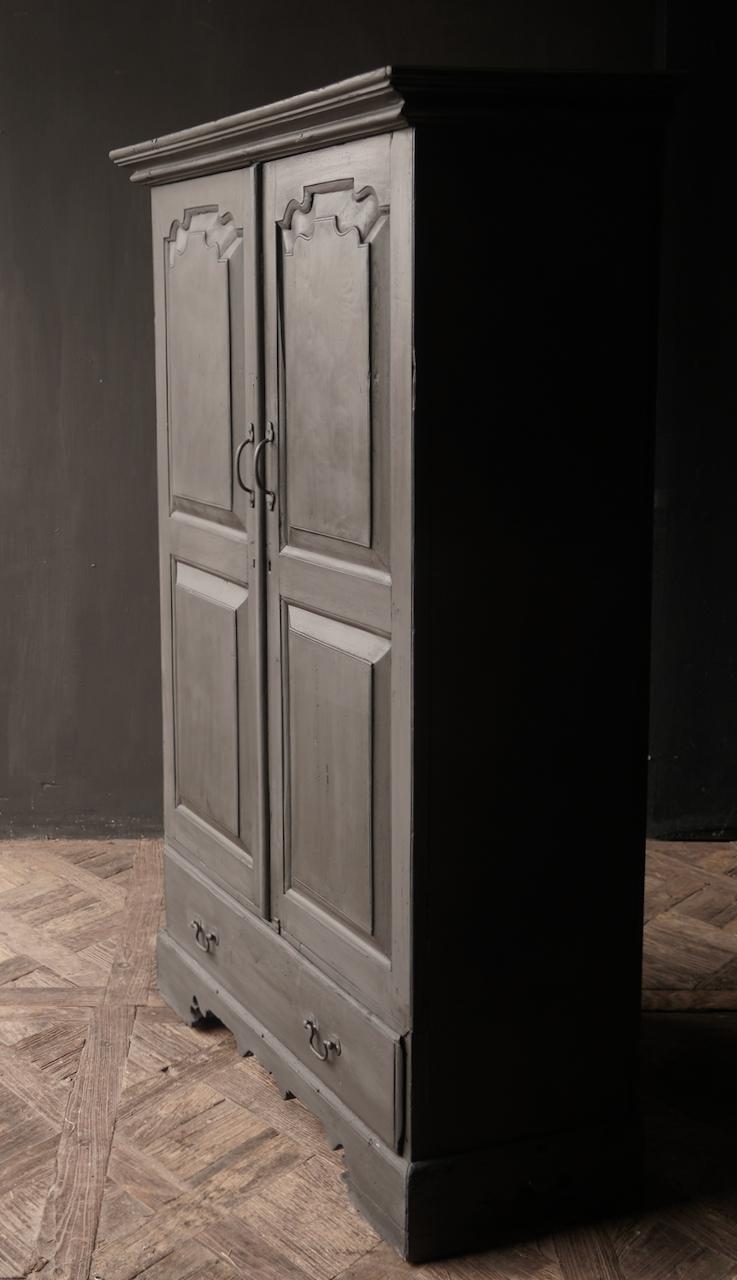 Oude Unieke Indische ( Wabi Sabi) kast twee deurs  en een lade-7