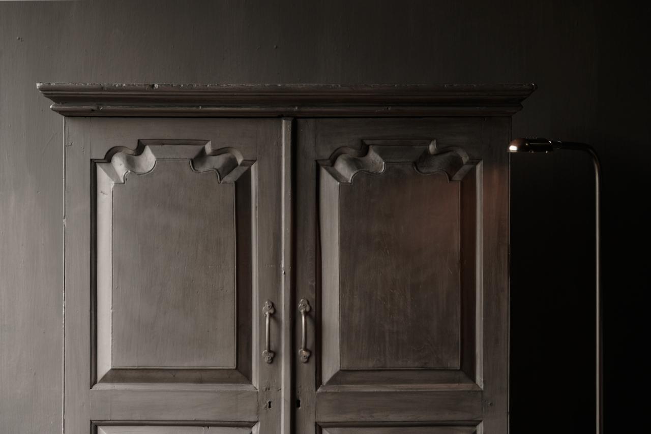 Oude Unieke Indische ( Wabi Sabi) kast twee deurs  en een lade-8