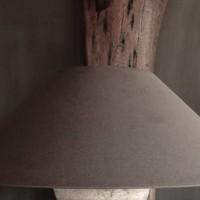 Oblique Leinenhaube XL in der Farbe Boden