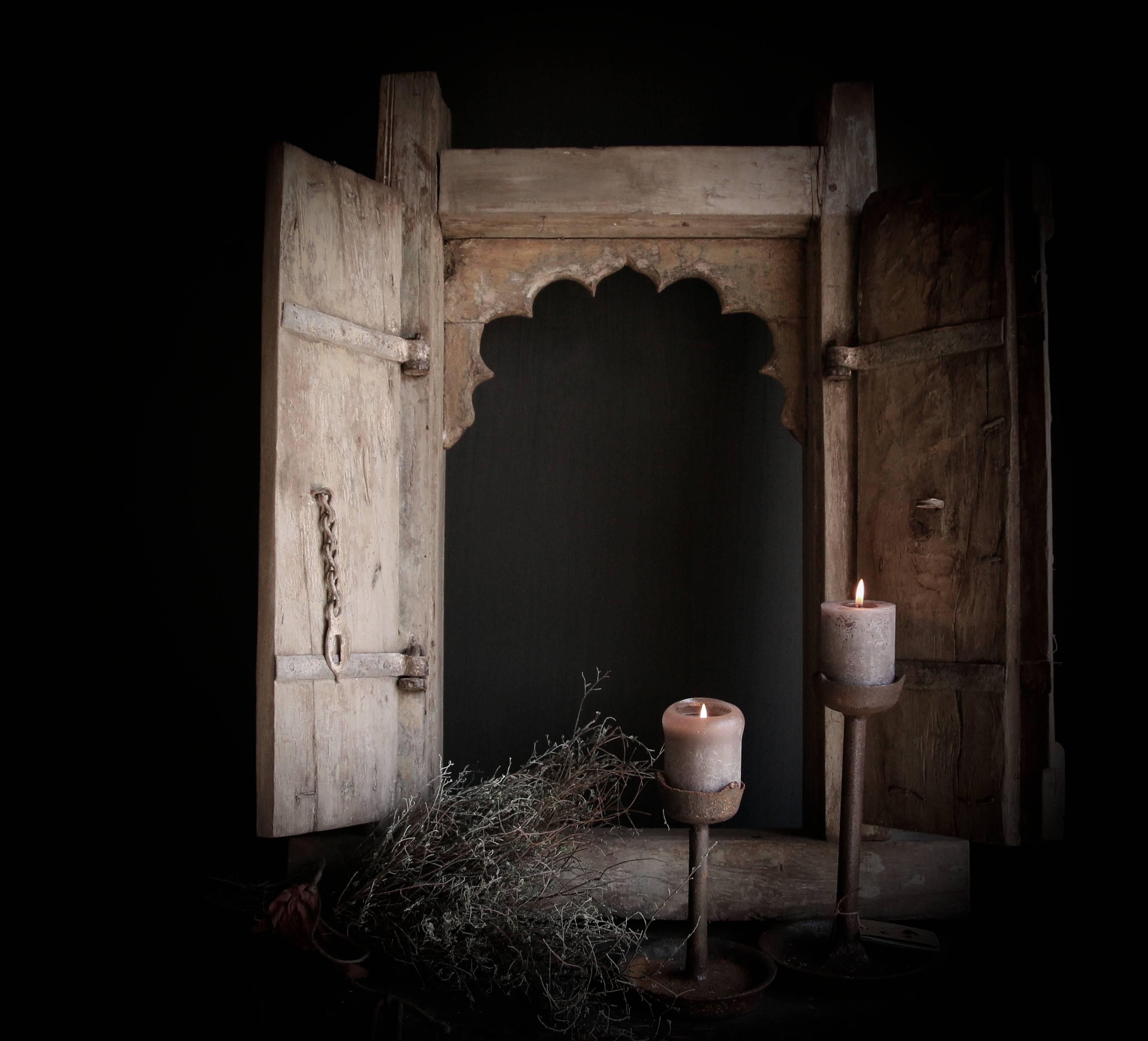 Oude Indiase poorten, deuren en luiken. -1