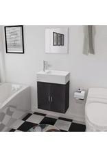 Driedelig badkamer meubel en wastafel set -