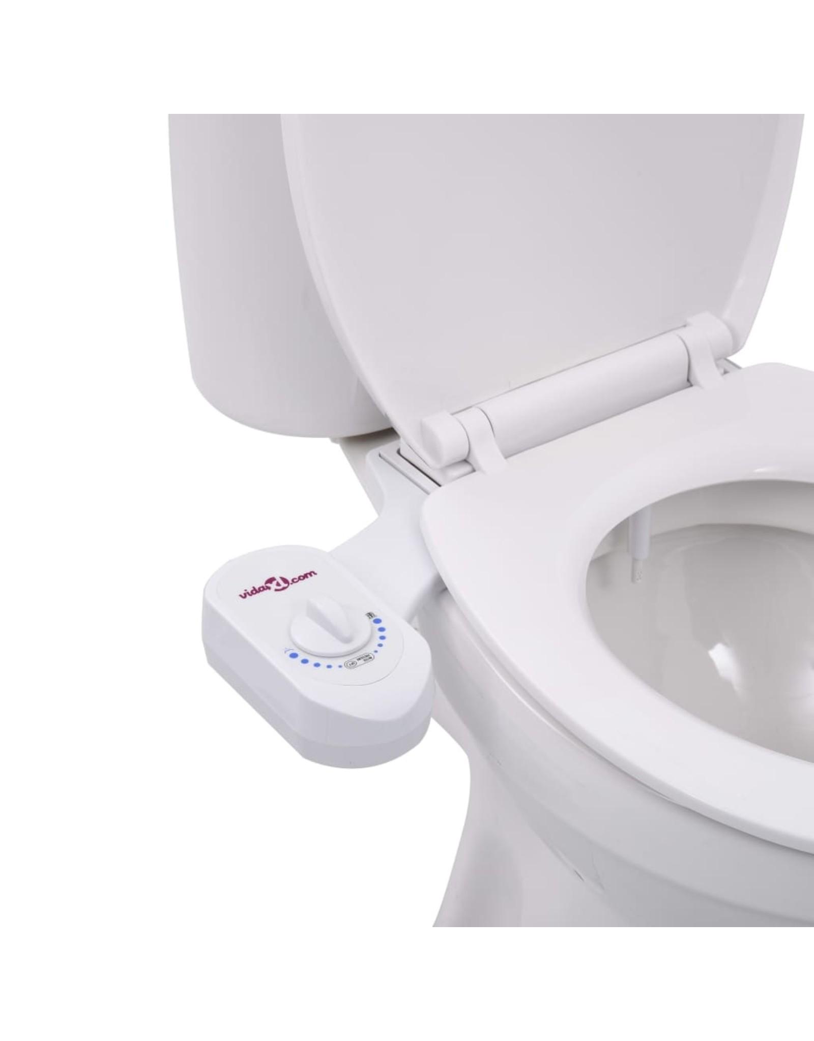 Bidetaansluiting voor toiletbril enkel mondstuk