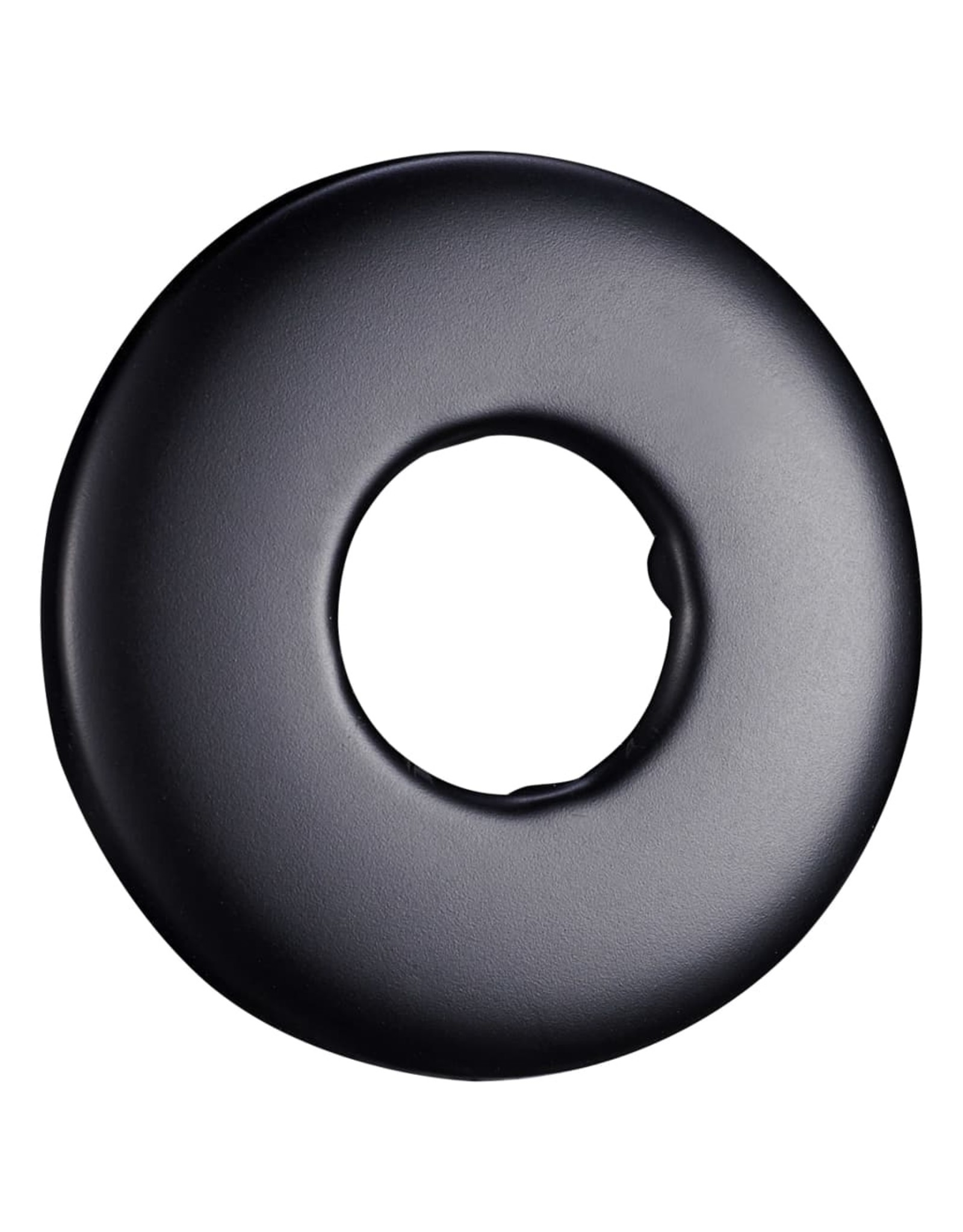 Douchearm rond 30 cm roestvrij staal 201 zwart