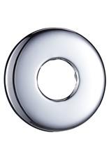 Douchearm rond 30 cm roestvrij staal 201 zilverkleurig