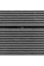 Buitendouchebak 110x62 cm HKC roestvrij staal grijs