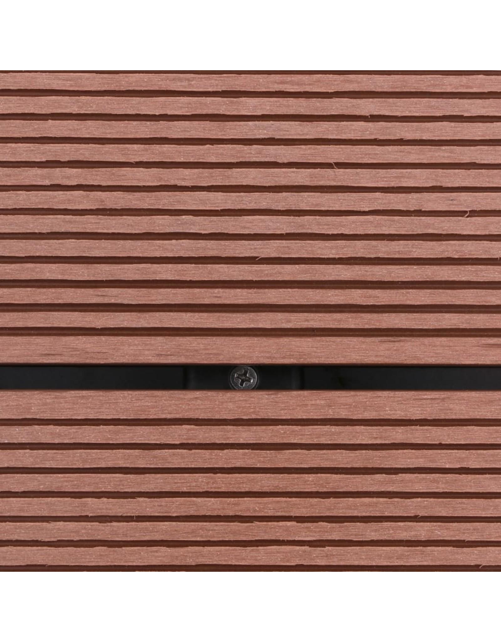 Buitendouchebak 80x62 cm HKC roestvrij staal bruin