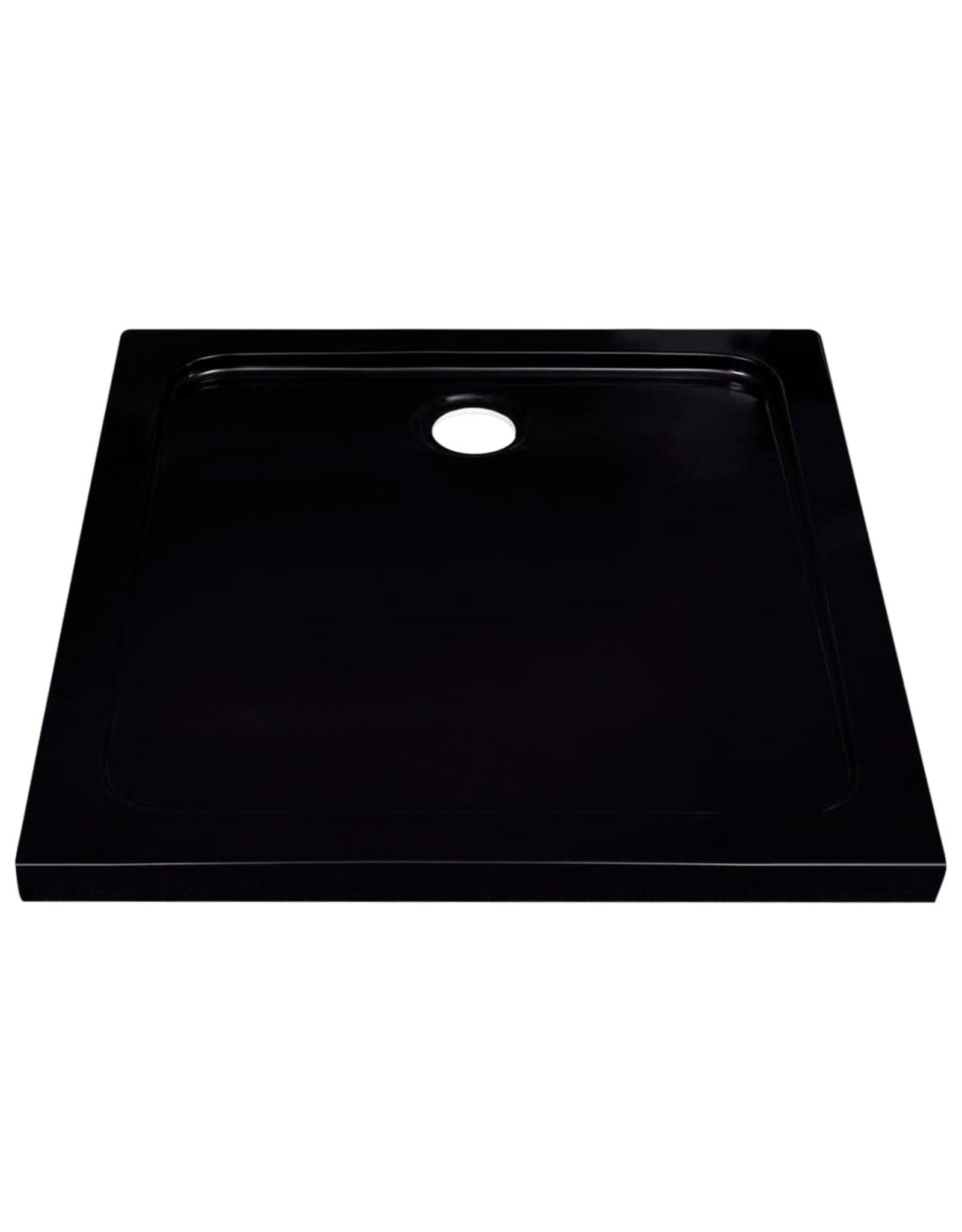 Douchebak 80x80 cm ABS zwart