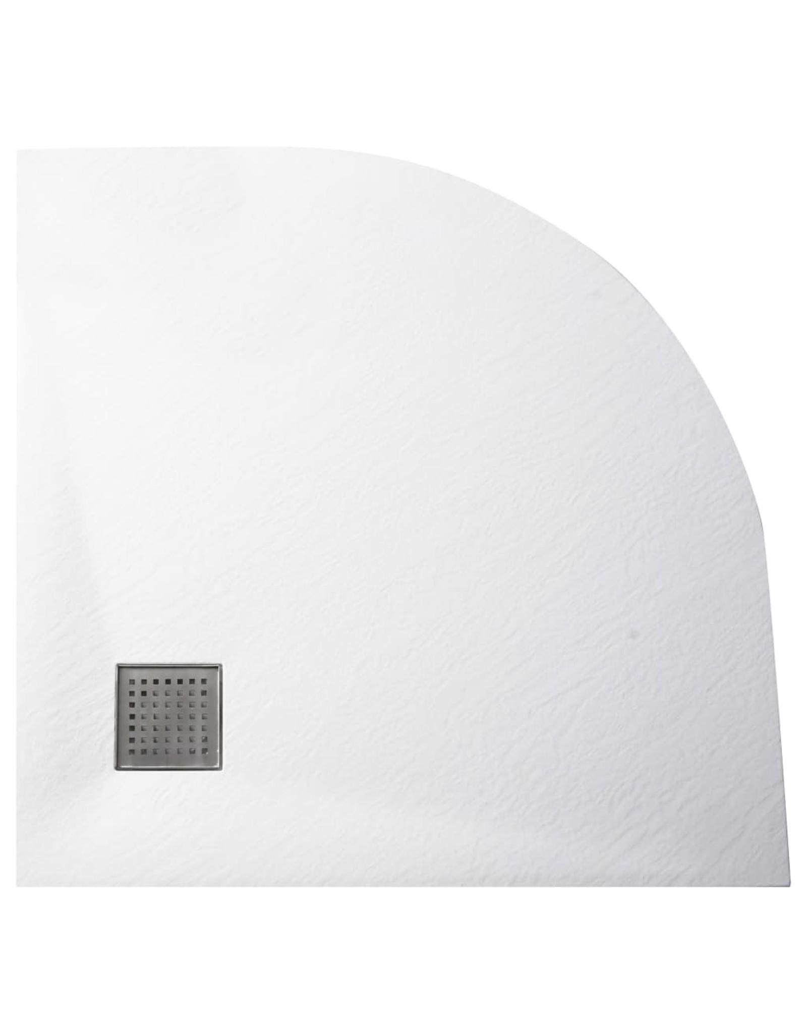 Douchebak 90x90 cm SMC wit