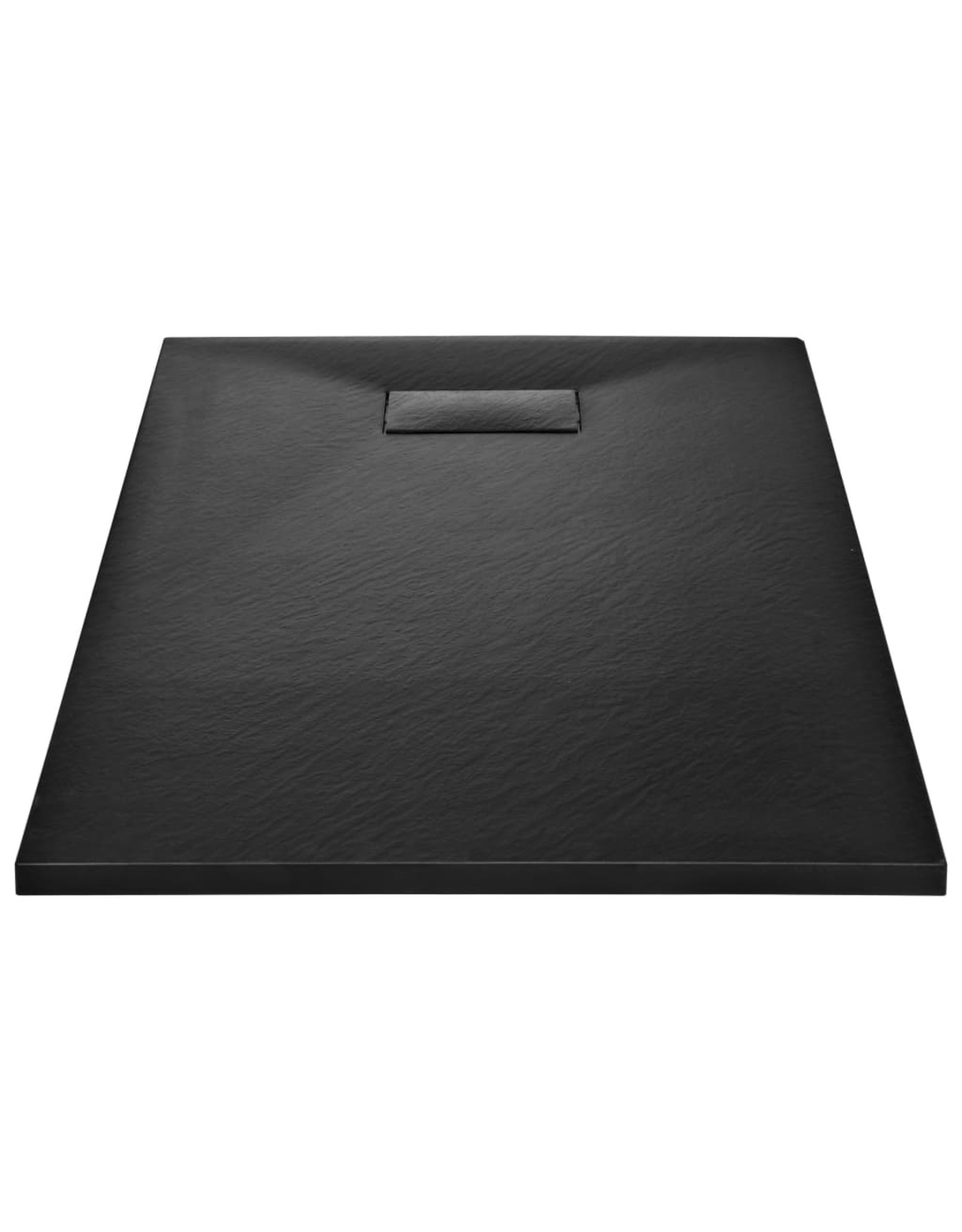 Douchebak 120x70 cm SMC zwart