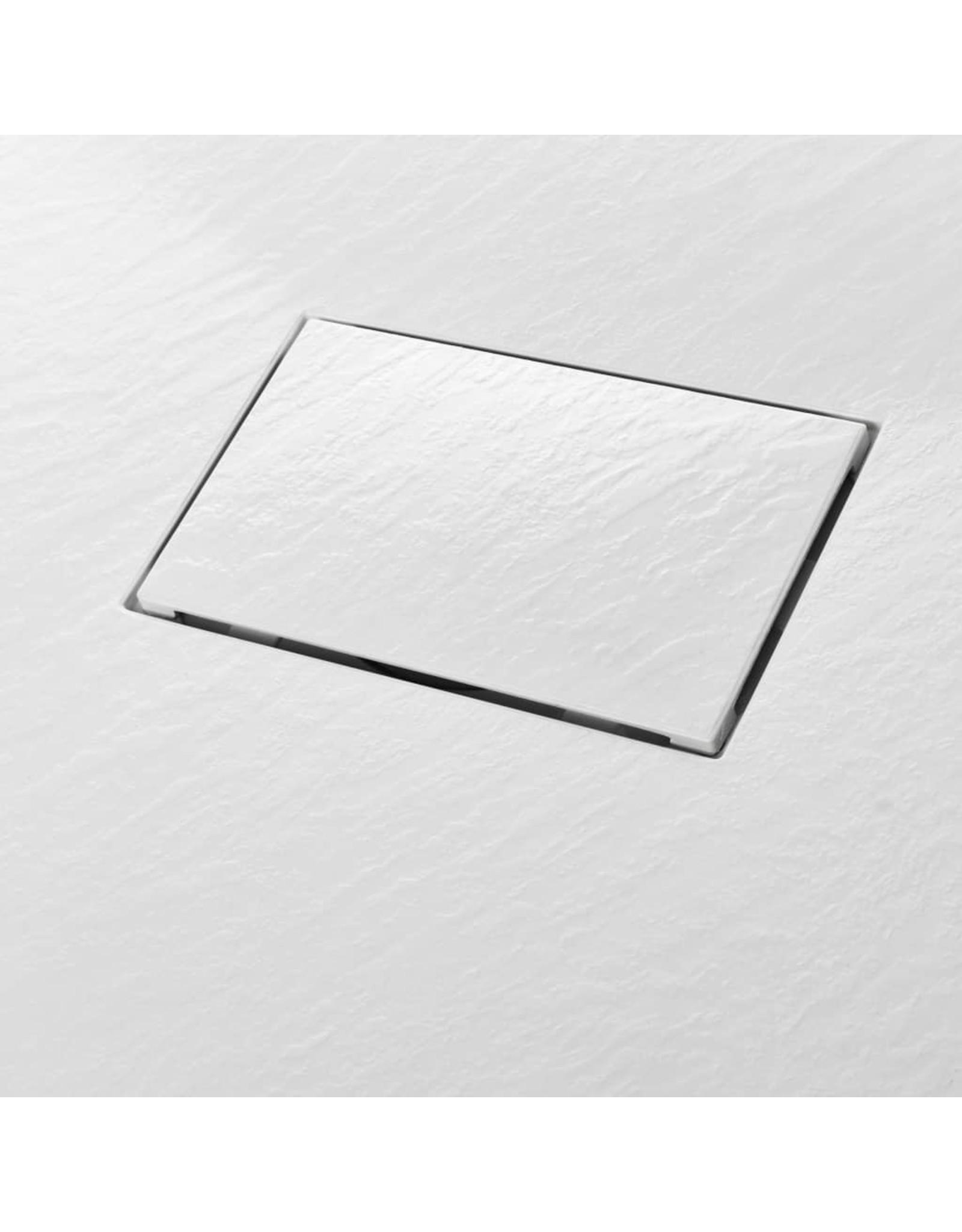 Douchebak 100x80 cm SMC wit