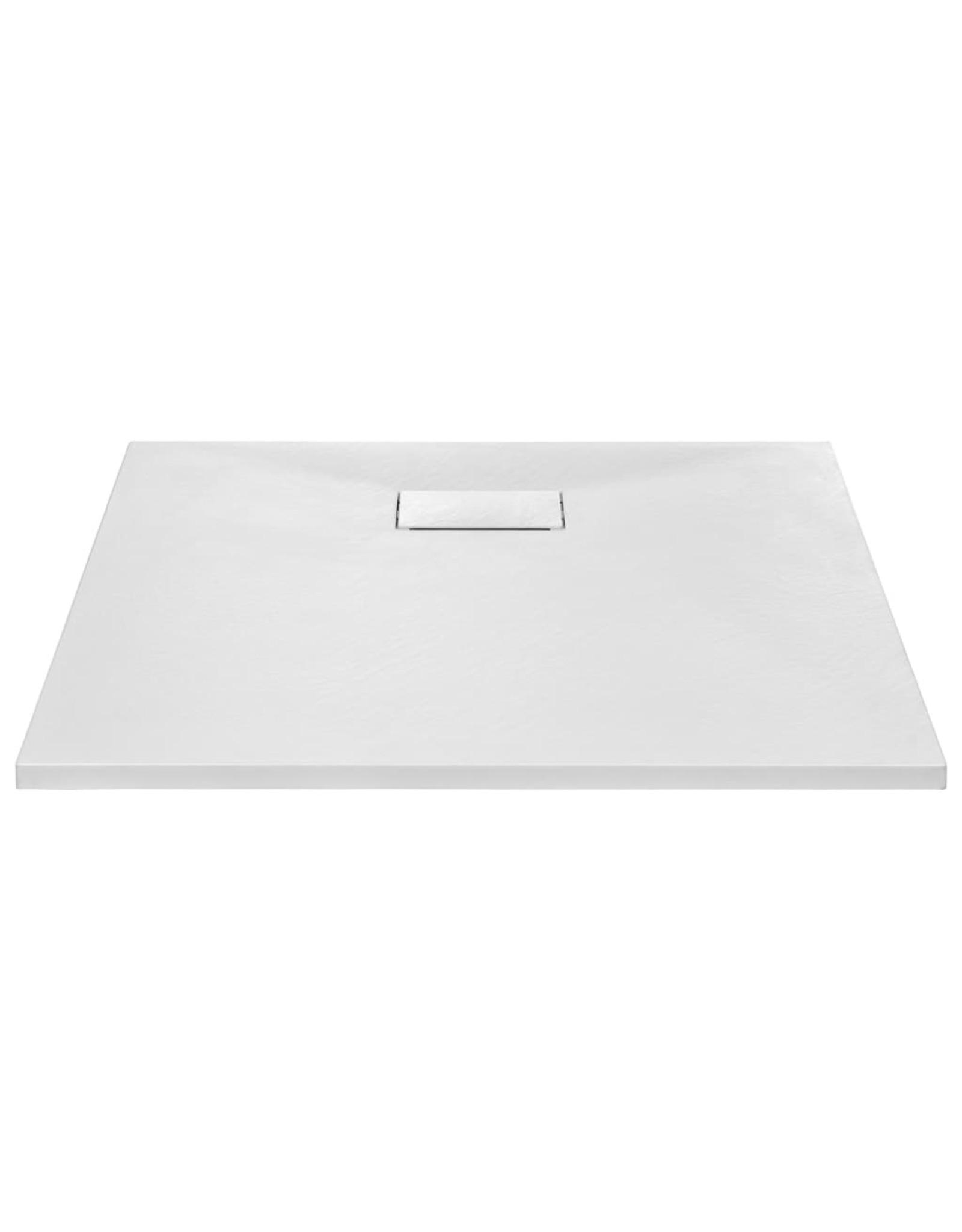 Douchebak 80x80 cm SMC wit