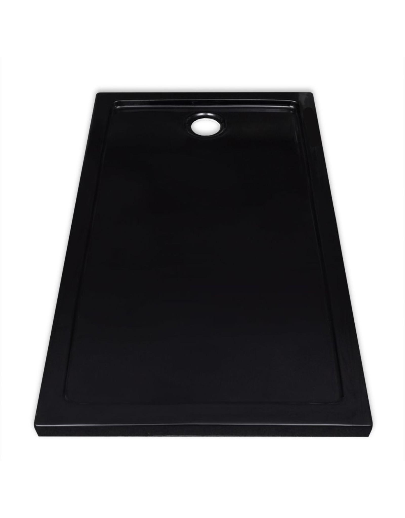 Douchebak rechthoekig 70x120 cm ABS wit