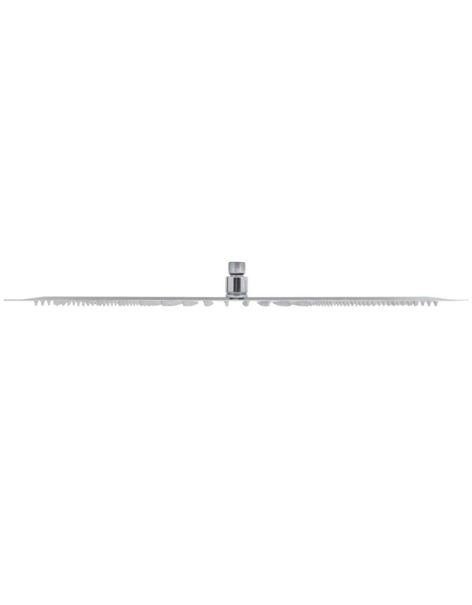 Regendouchekop rechthoekig 30x50 cm roestvrij staal