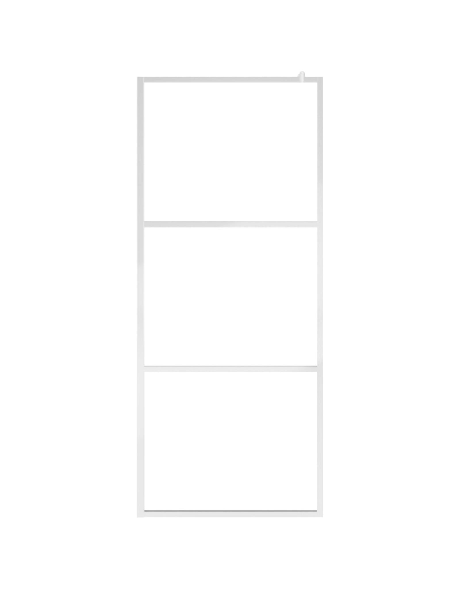 Inloopdouchewand mat 140x195 cm ESG-glas