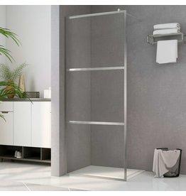 Inloopdouchewand transparant 90x195 cm ESG-glas