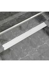 Doucheafvoer rechthoekig bubbel 1030x140 mm roestvrij staal