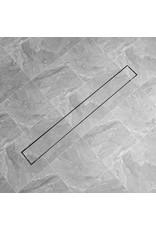 Doucheputje rechthoekig 1030x140 mm roestvrij staal