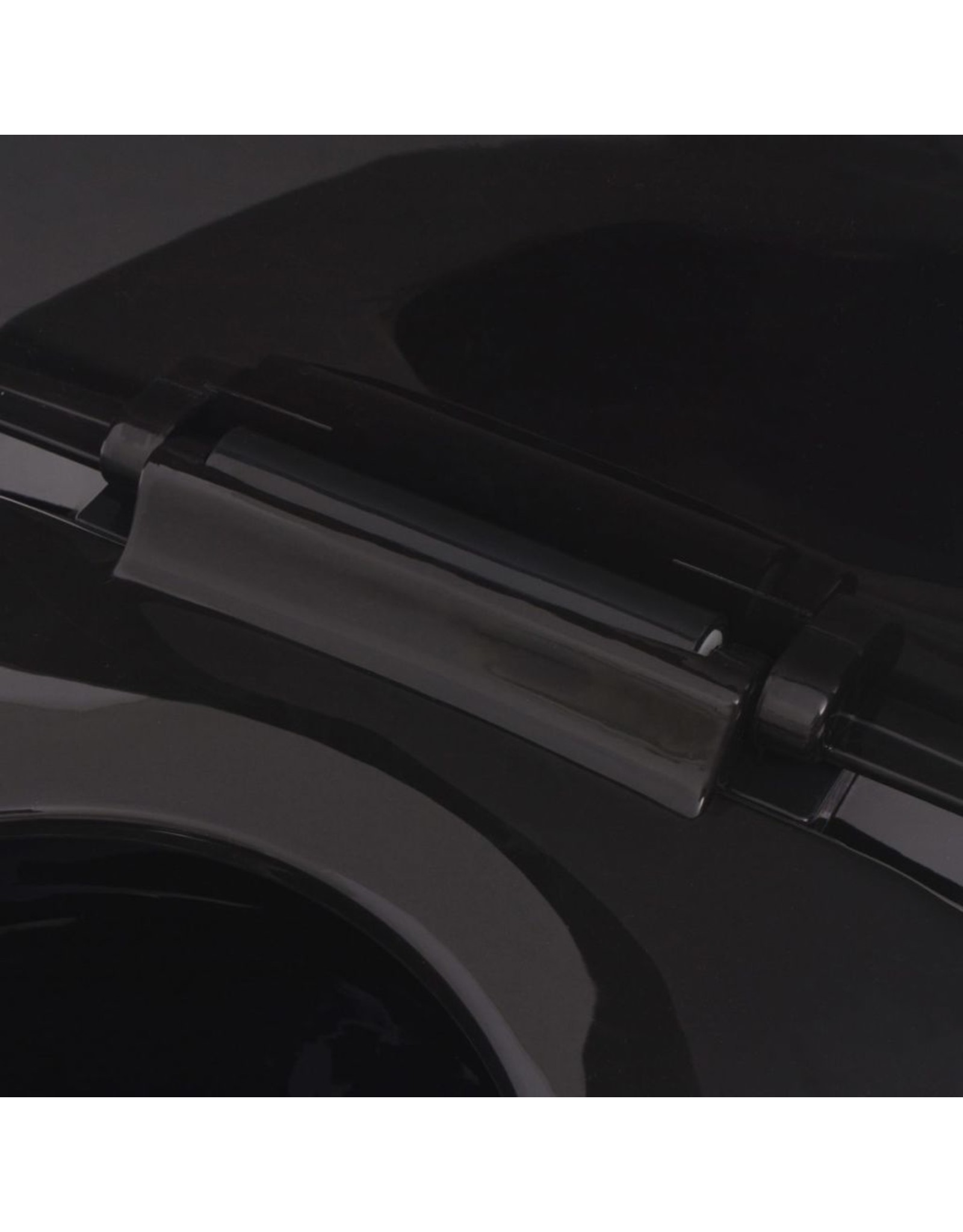 Hangend toilet keramiek zwart