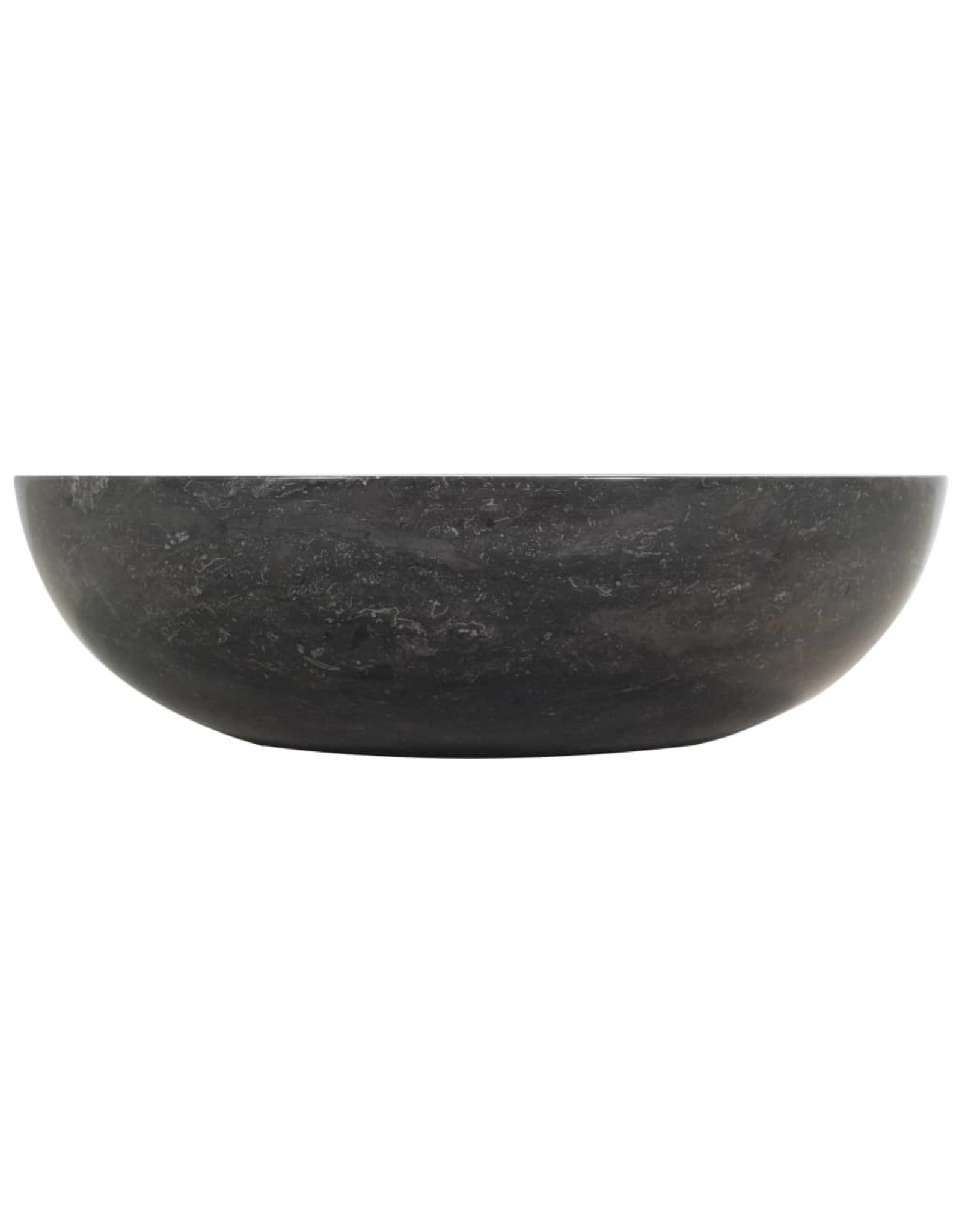 Gootsteen 40x12 cm marmer zwart