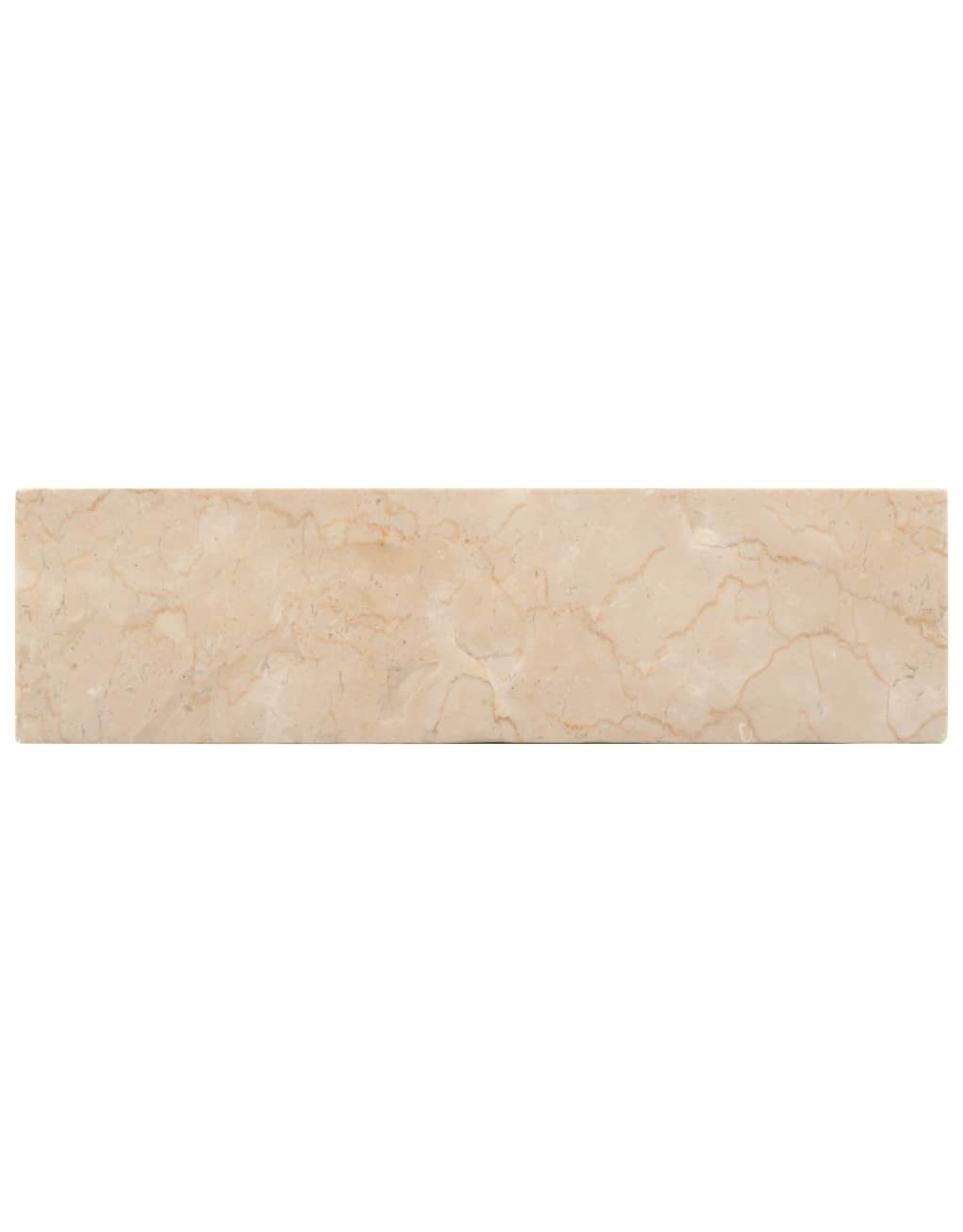 Gootsteen 45x30x12 cm marmer crème